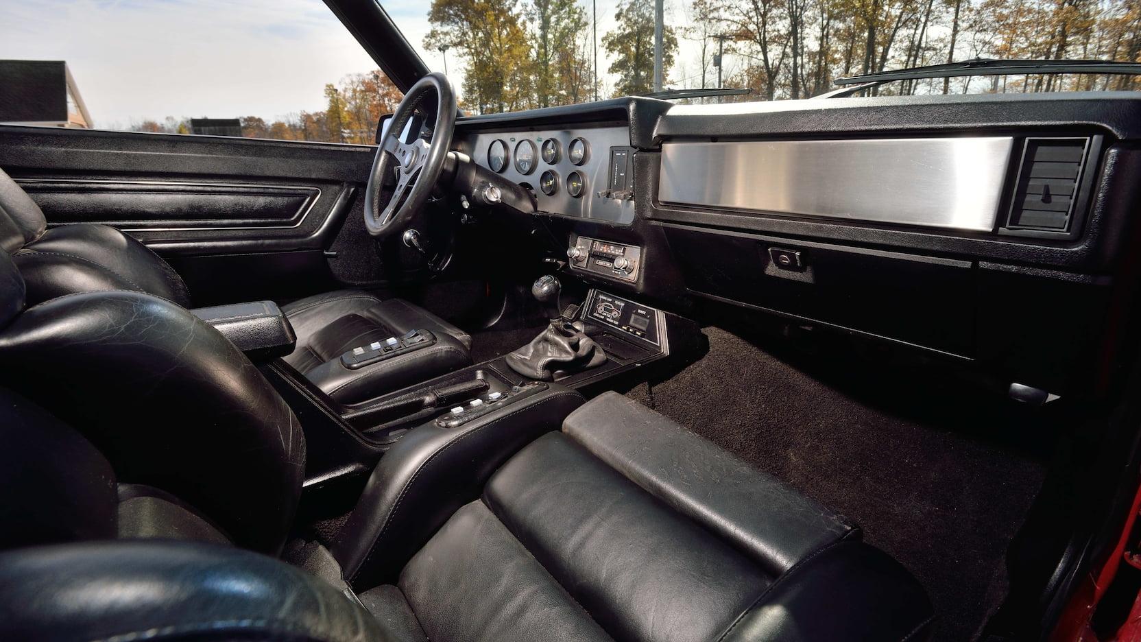 1980 Mercury Cosworth Capri passenger seat