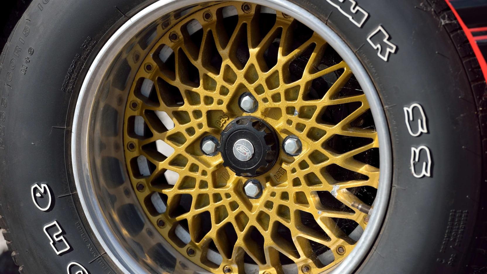 1980 Mercury Cosworth Capri wheel detail