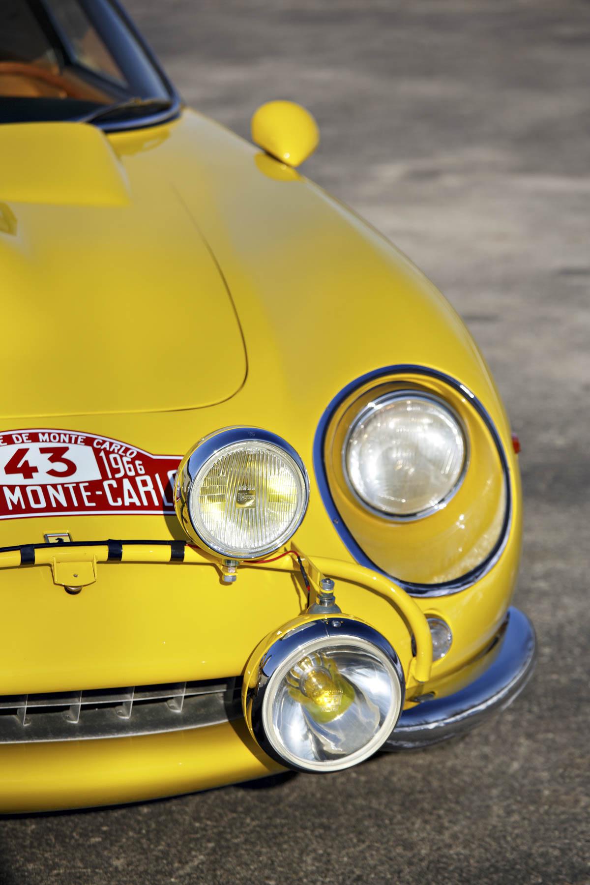 1964 Ferrari 275 GTB Prototype headlights