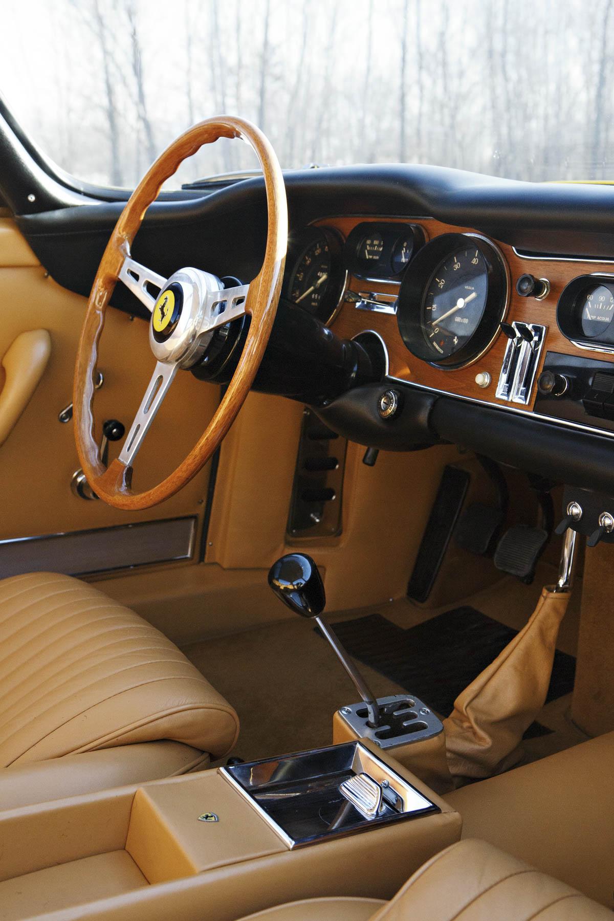1964 Ferrari 275 GTB Prototype steering wheel