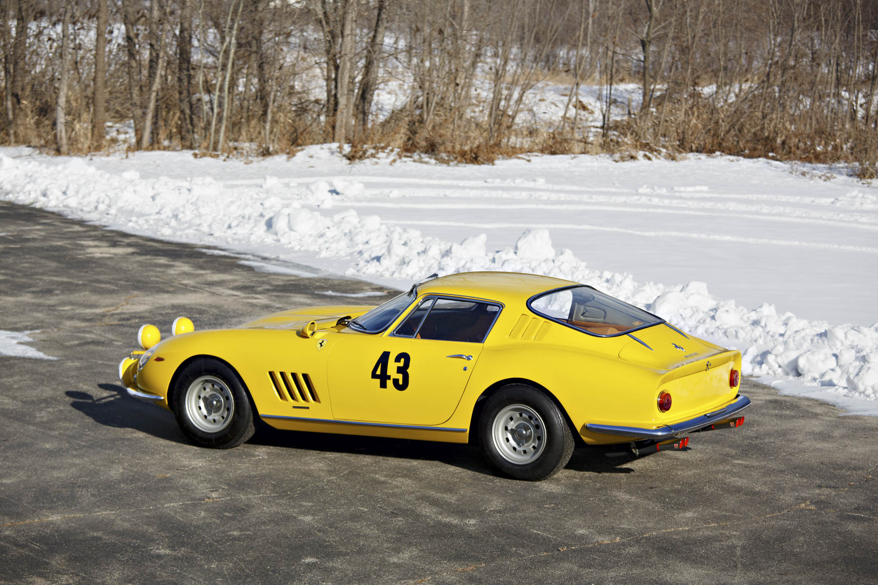1964 Ferrari 275 GTB Prototype rear 3/4
