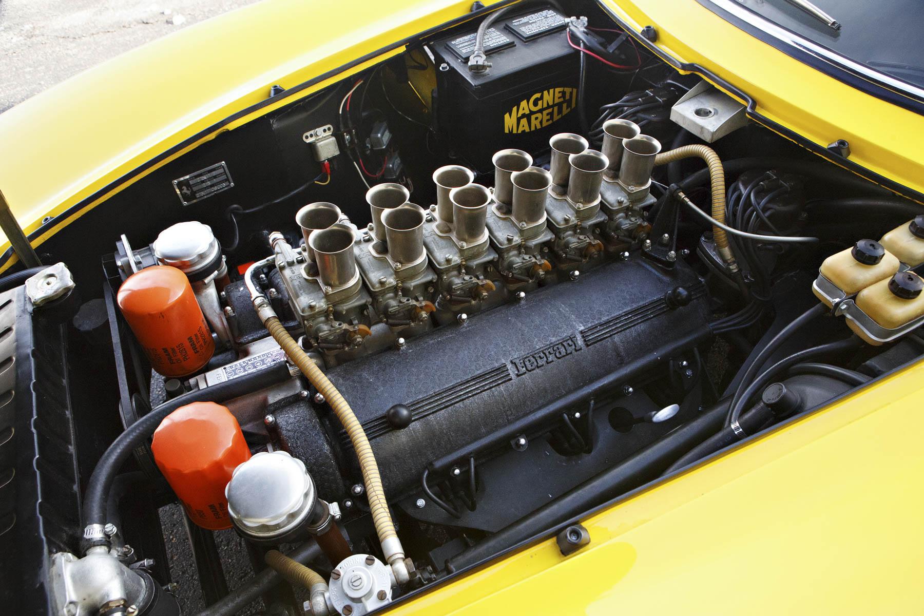1964 Ferrari 275 GTB Prototype engine