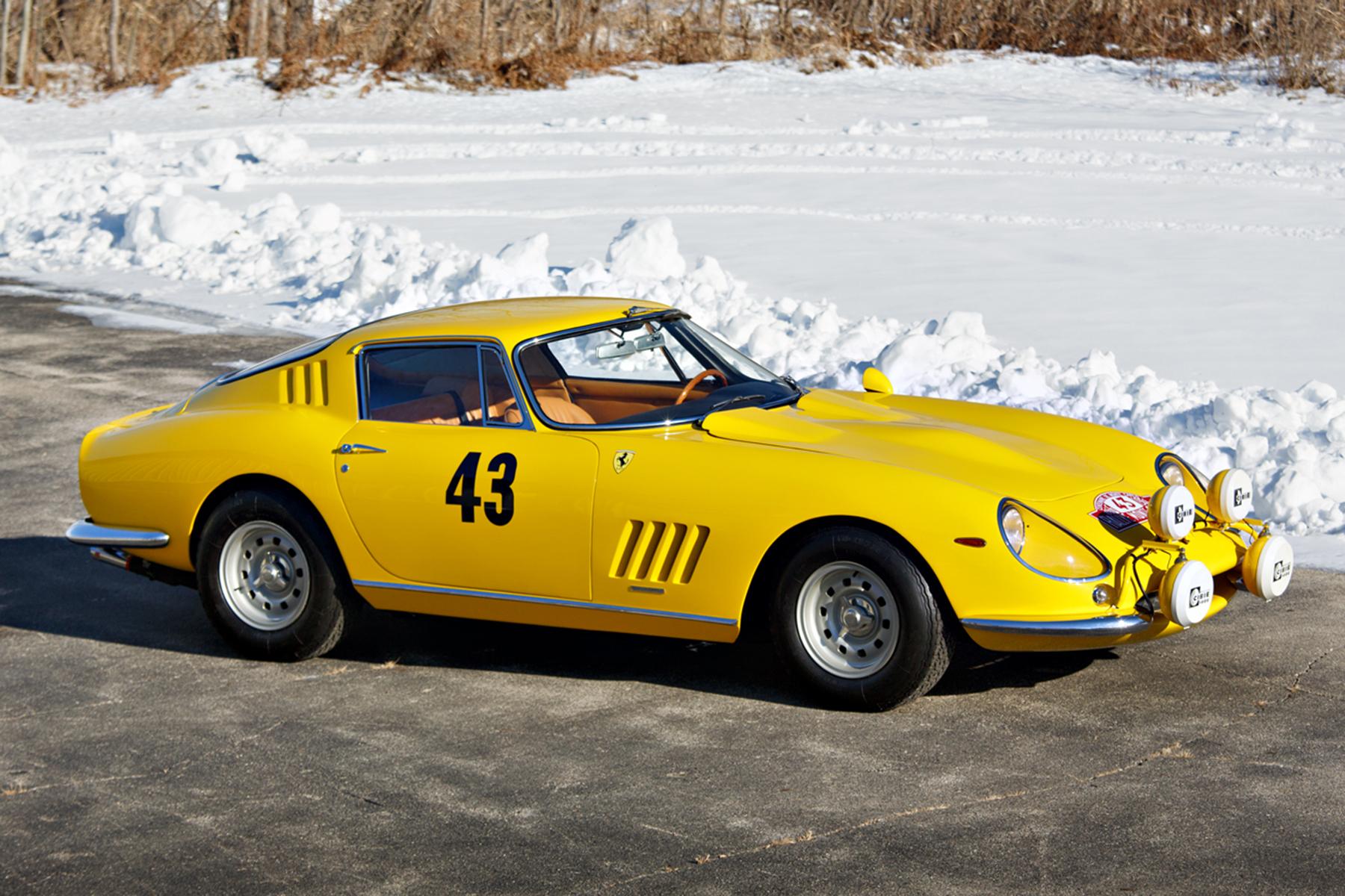 1964 Ferrari 275 GTB Prototype front 3/4