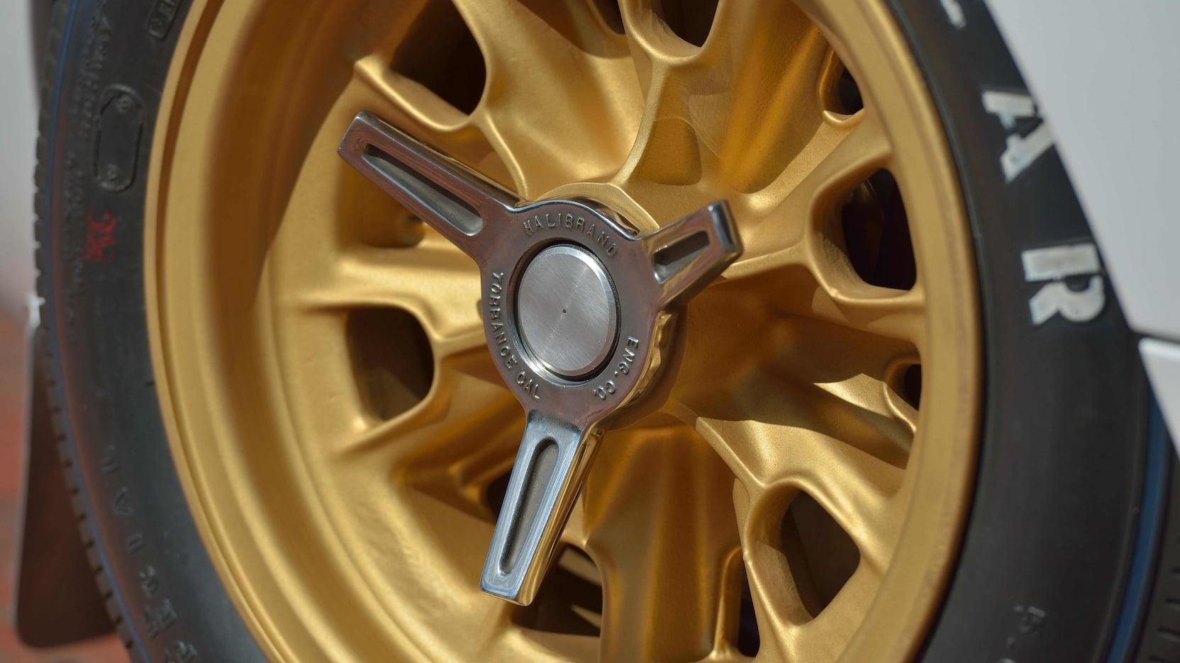 1965 Ford GT wheels