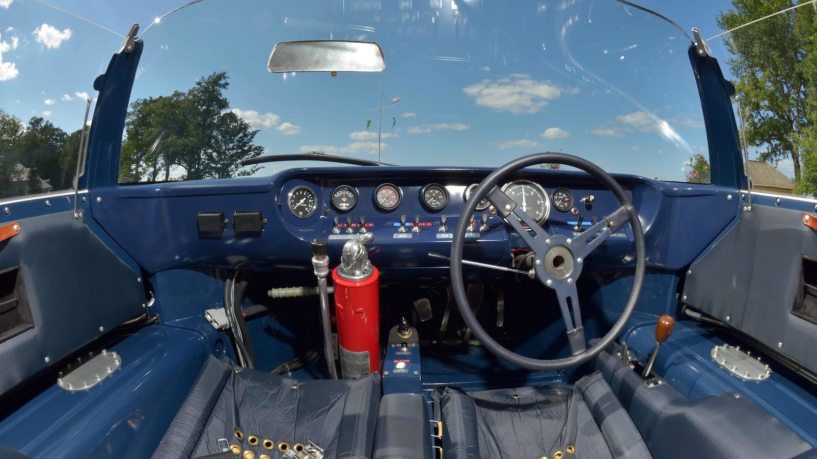 1965 Ford GT Competition Prototype cockpit