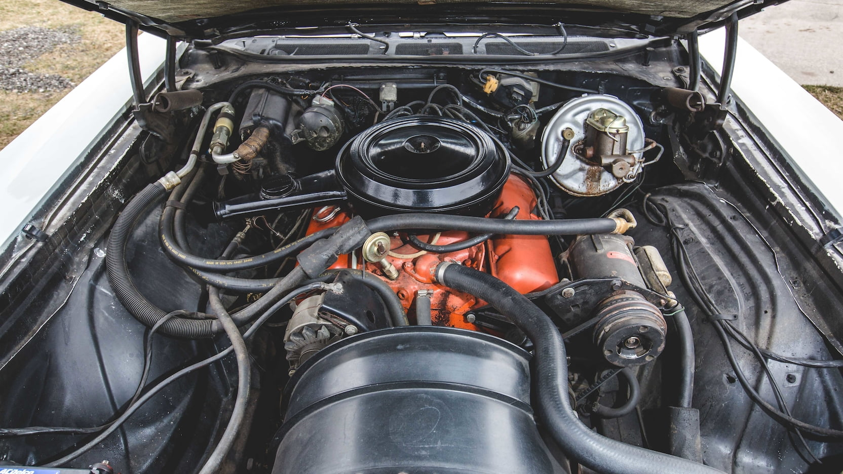1970 Chevrolet Monte Carlo SS engine