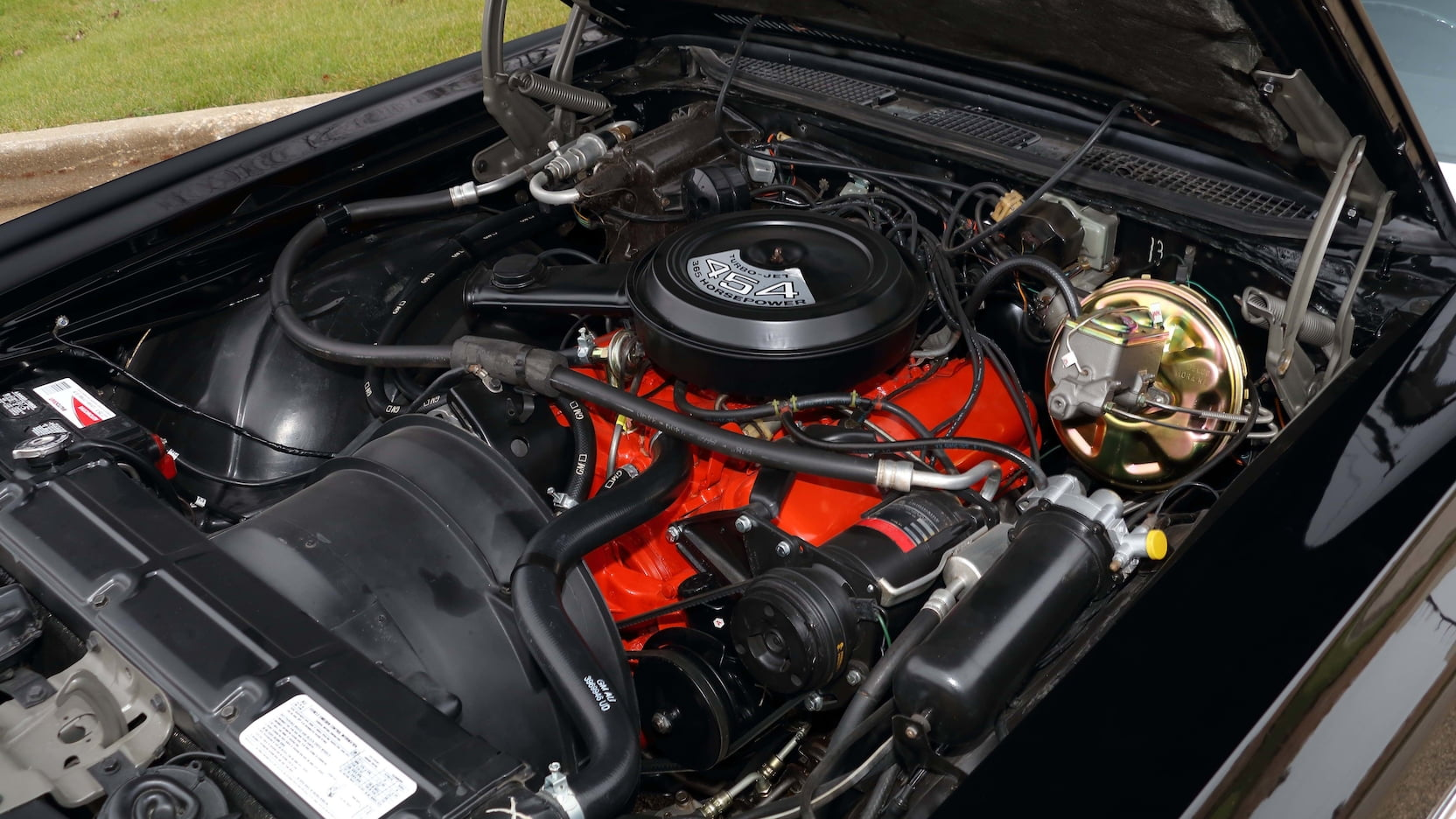 1971 Chevrolet Monte Carlo SS engine