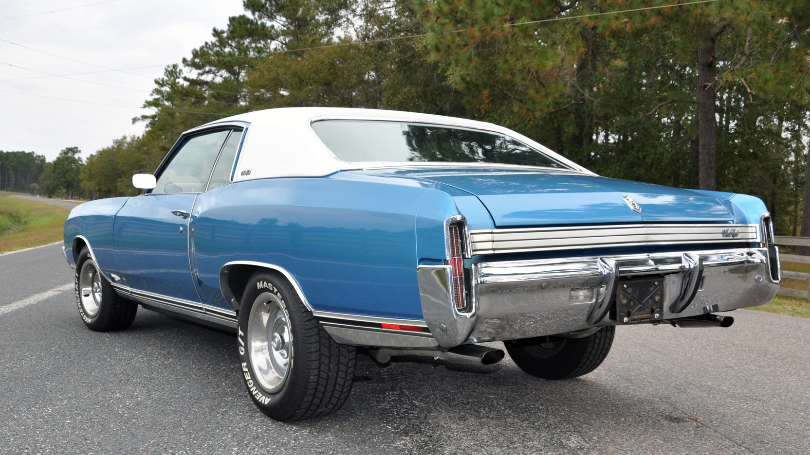 1972 Chevrolet Monte Carlo rear 3/4