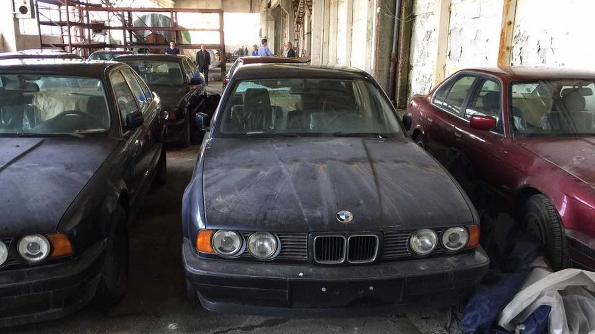 BMW 5 series barn find