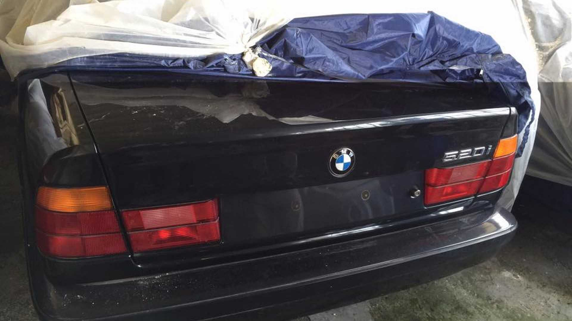 Barn Find BMW 520i