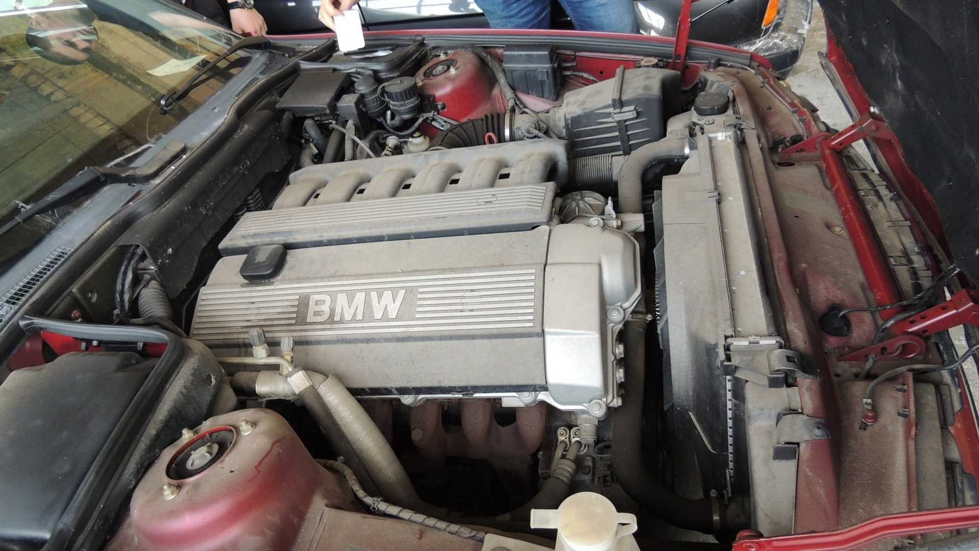 never driven BMW engine