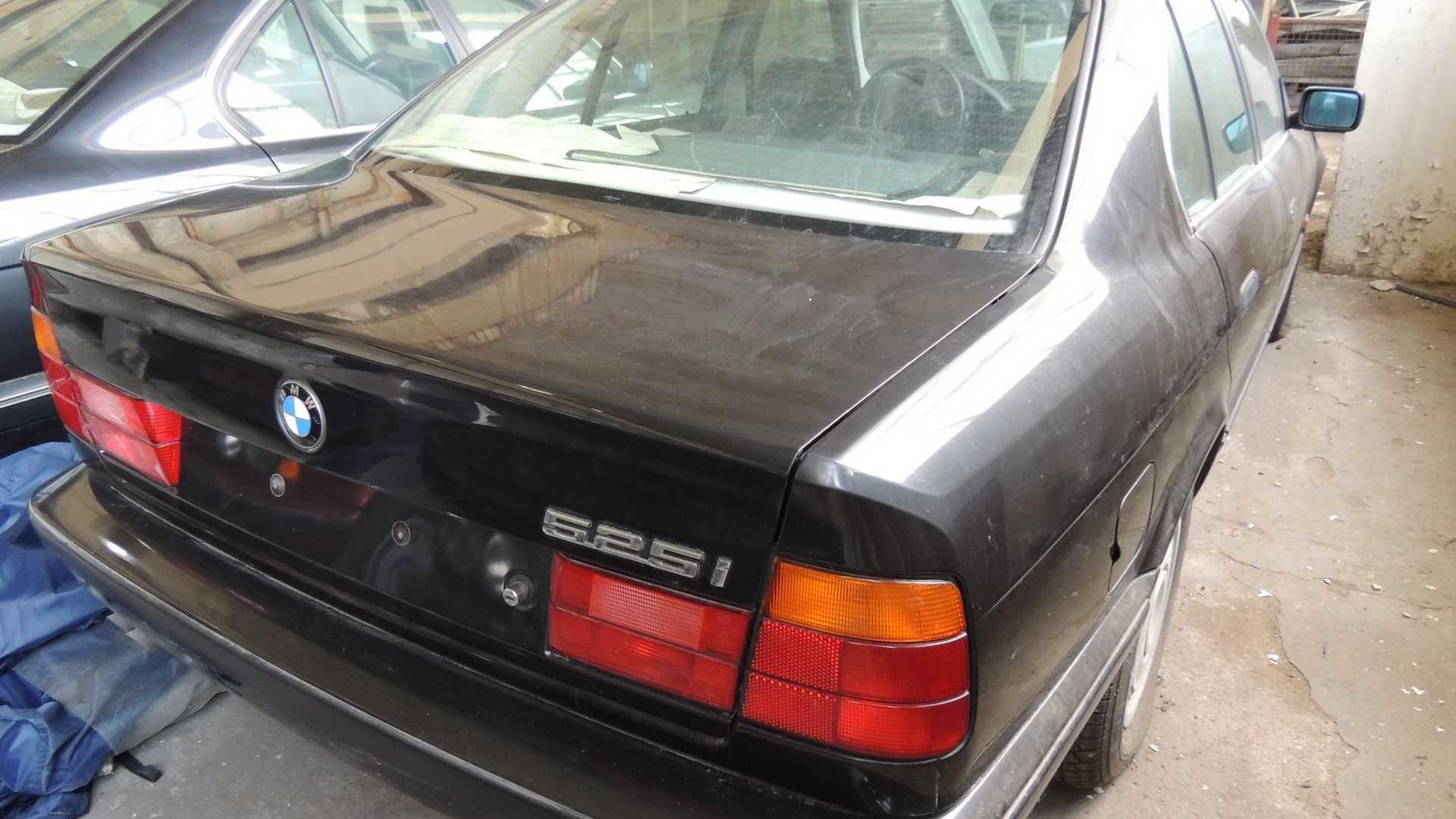 BMW 525i found