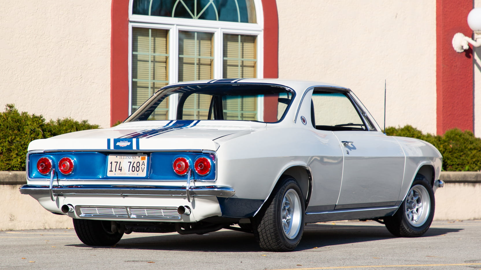 1966 Chevrolet Yenko Stinger rear 3/4