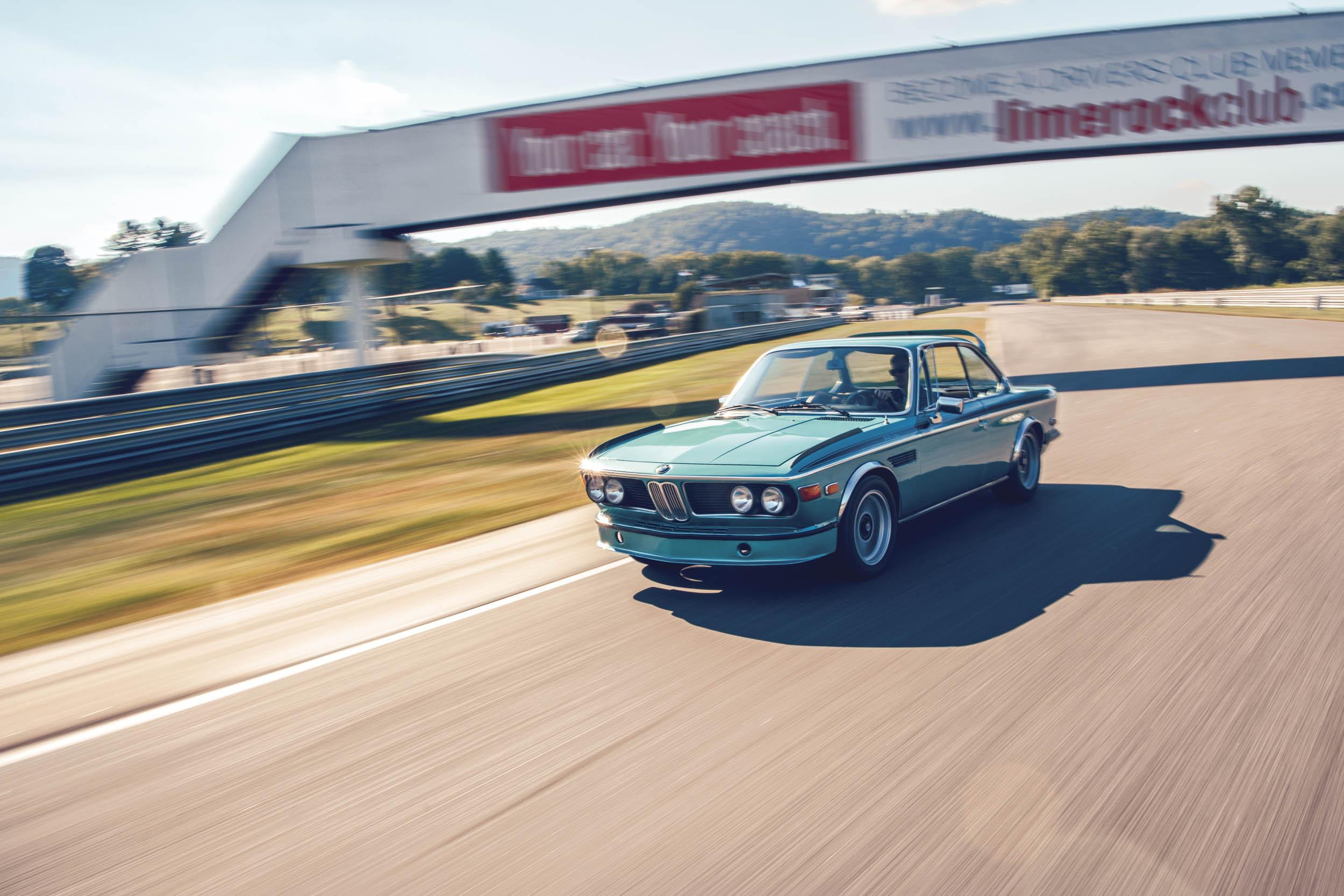 1973 BMW 3.0CSL front 3/4