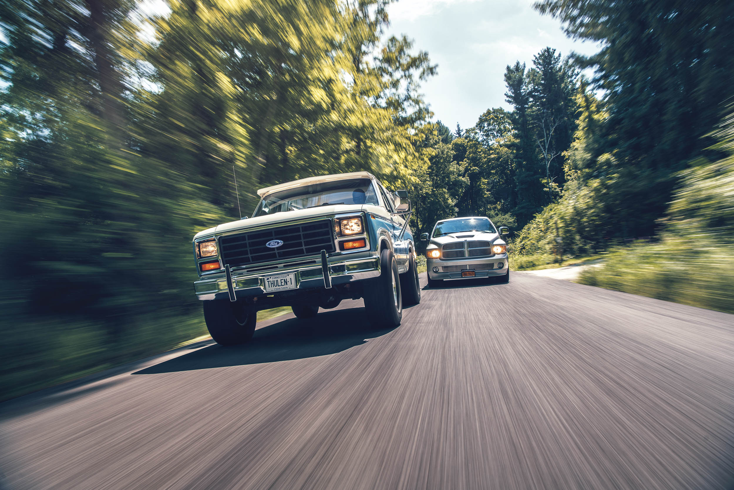 Popular as new vehicles, trucks and SUVs such as the later Broncos and the Ram SRT10 are naturally having their moment as collectibles as well.