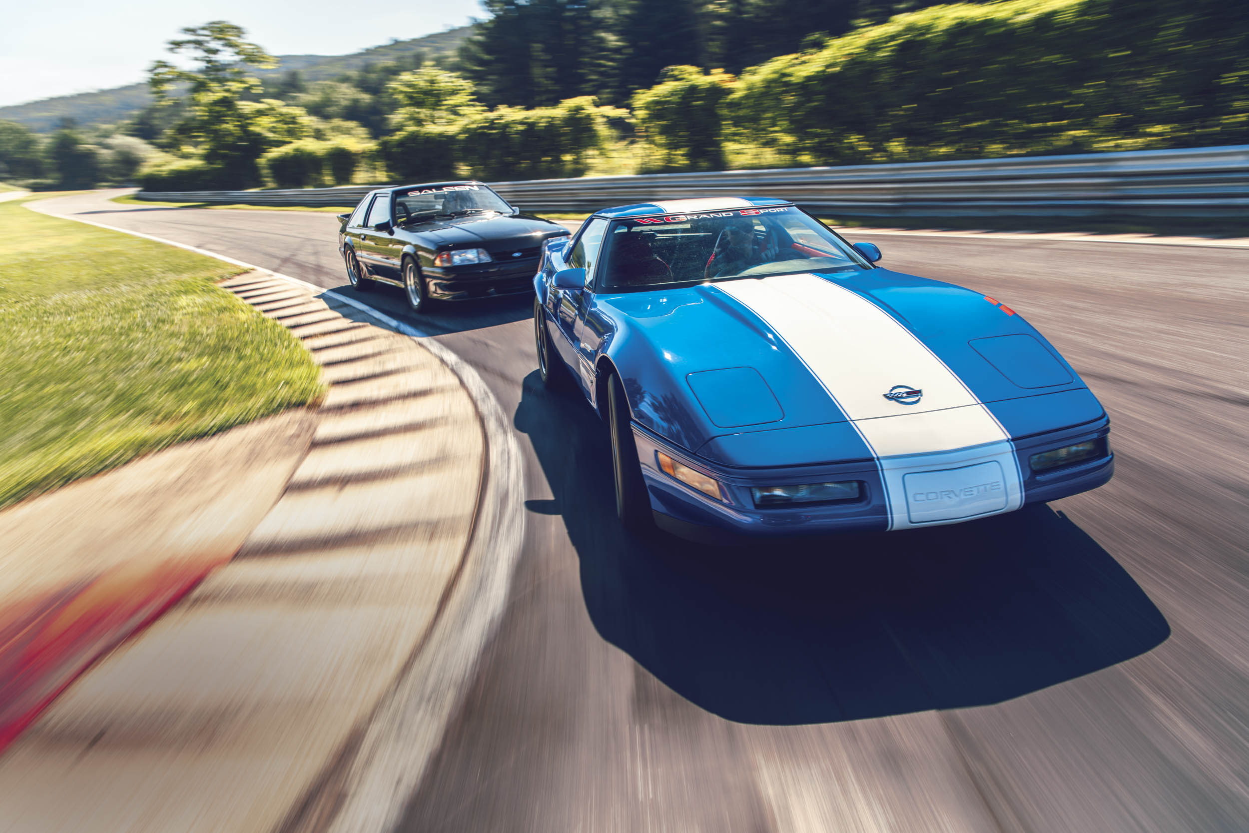 American V-8s will always be collectible, particularly special versions such as the Saleen Mustang and the rare Grand Sport Corvette.
