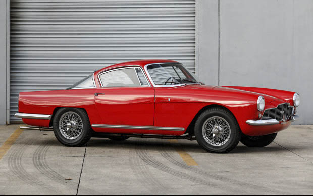 1954 Aston Martin DB2/4 Coupe by Bertone