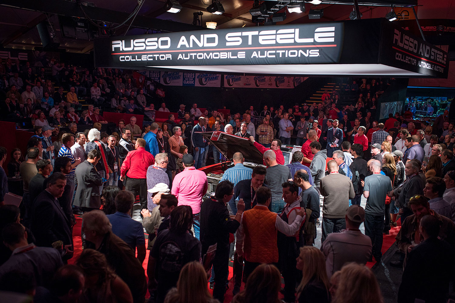 Russo and Steele Scottsdale auction