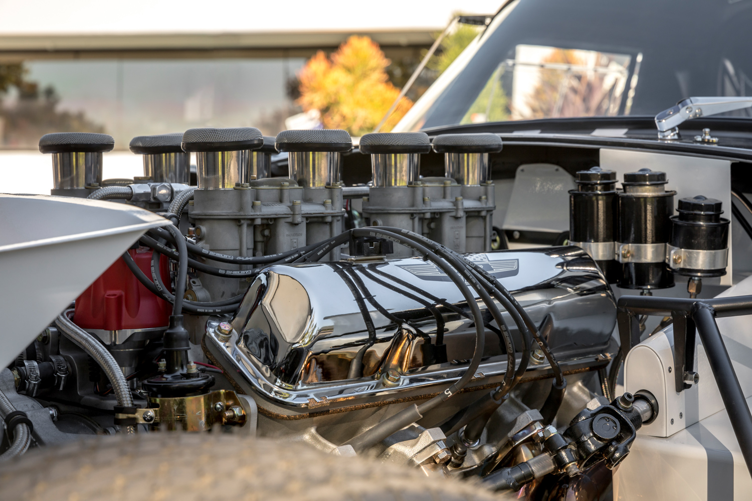 1964 Shelby Daytona Coupe replica engine carbs