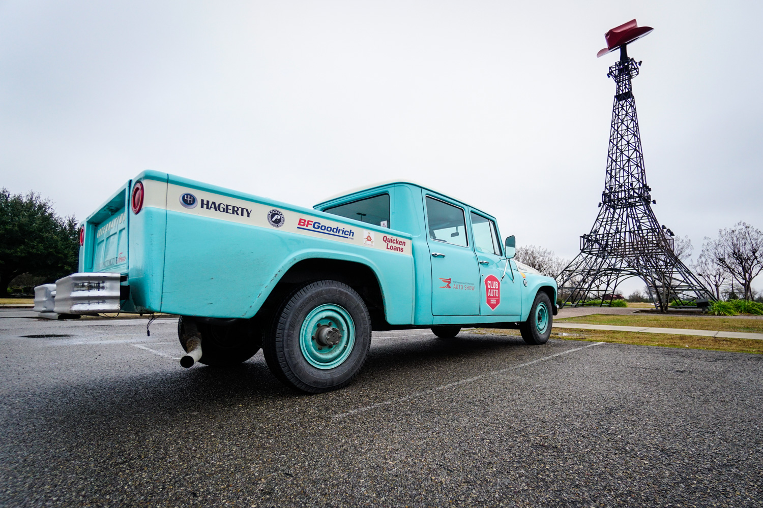 The Drive Home 1962 International Harvester Travelette paris texas tower