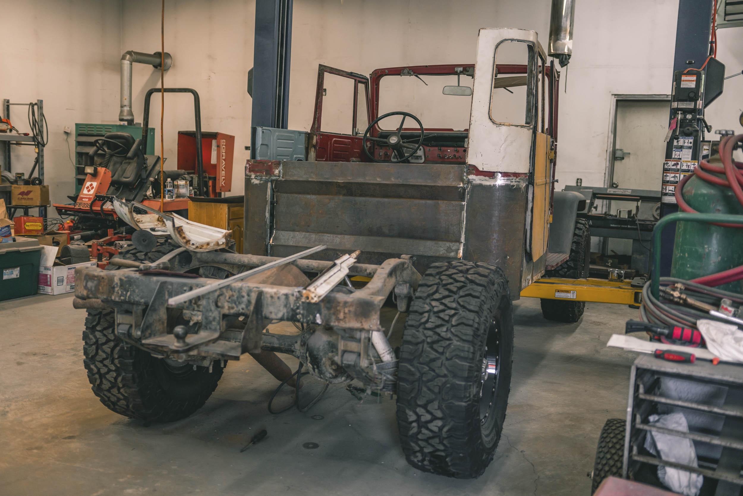 truck restoration in Alaska