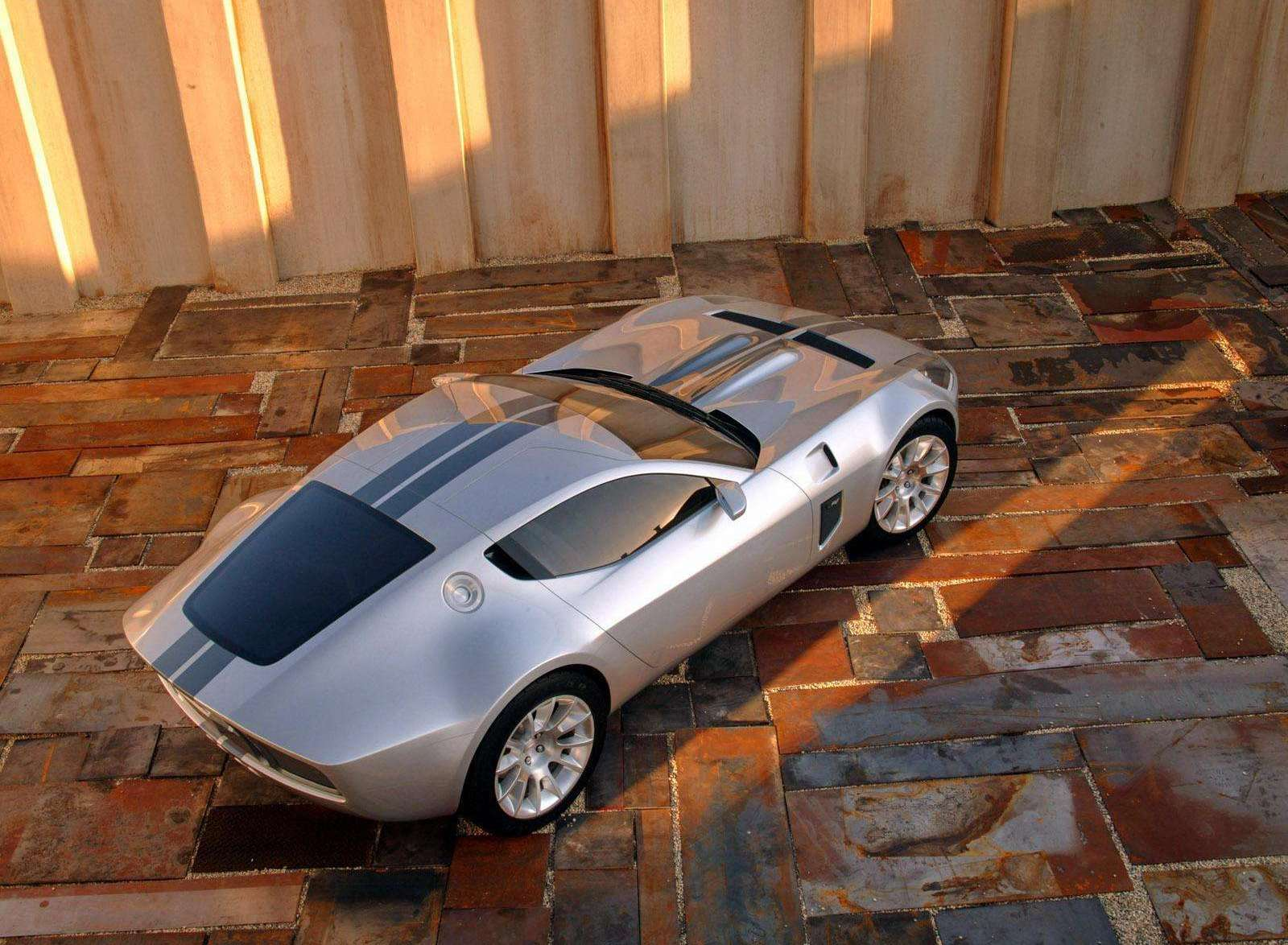 Ford Shelby GR-1 concept 3/4 rear high