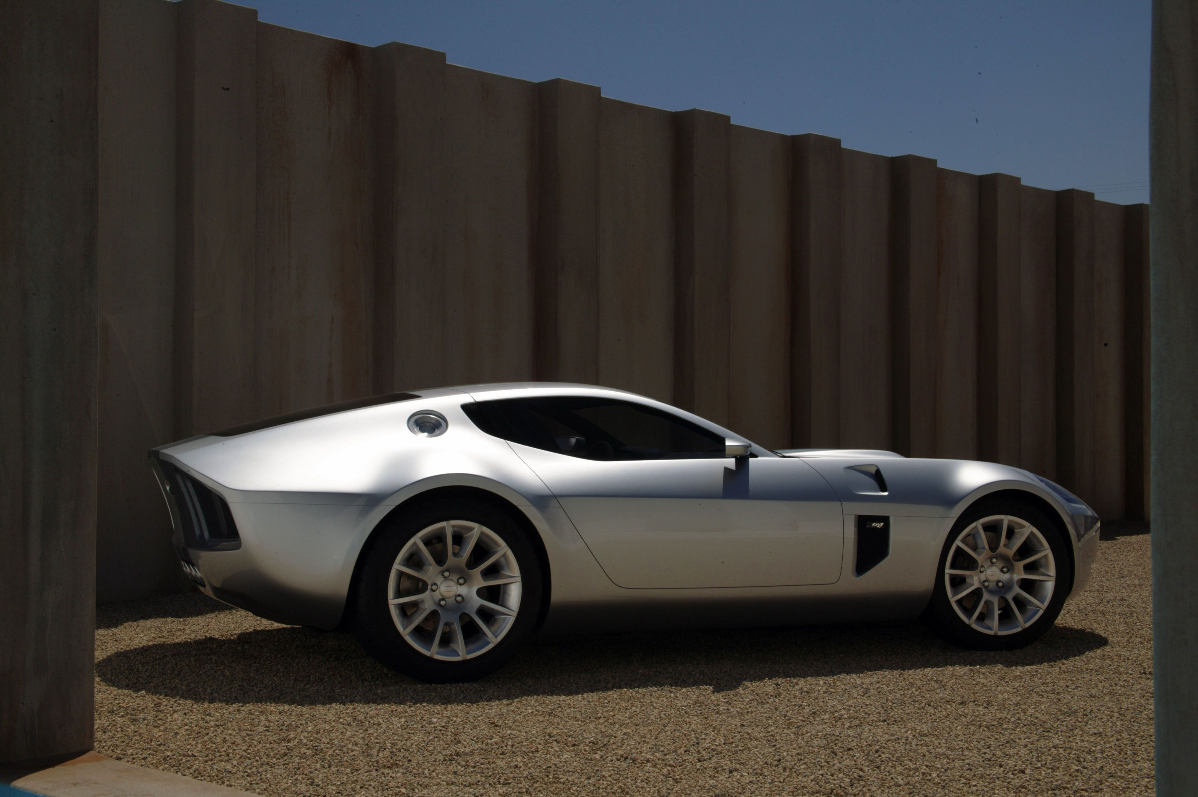 Ford Shelby GR-1 concept wall dark