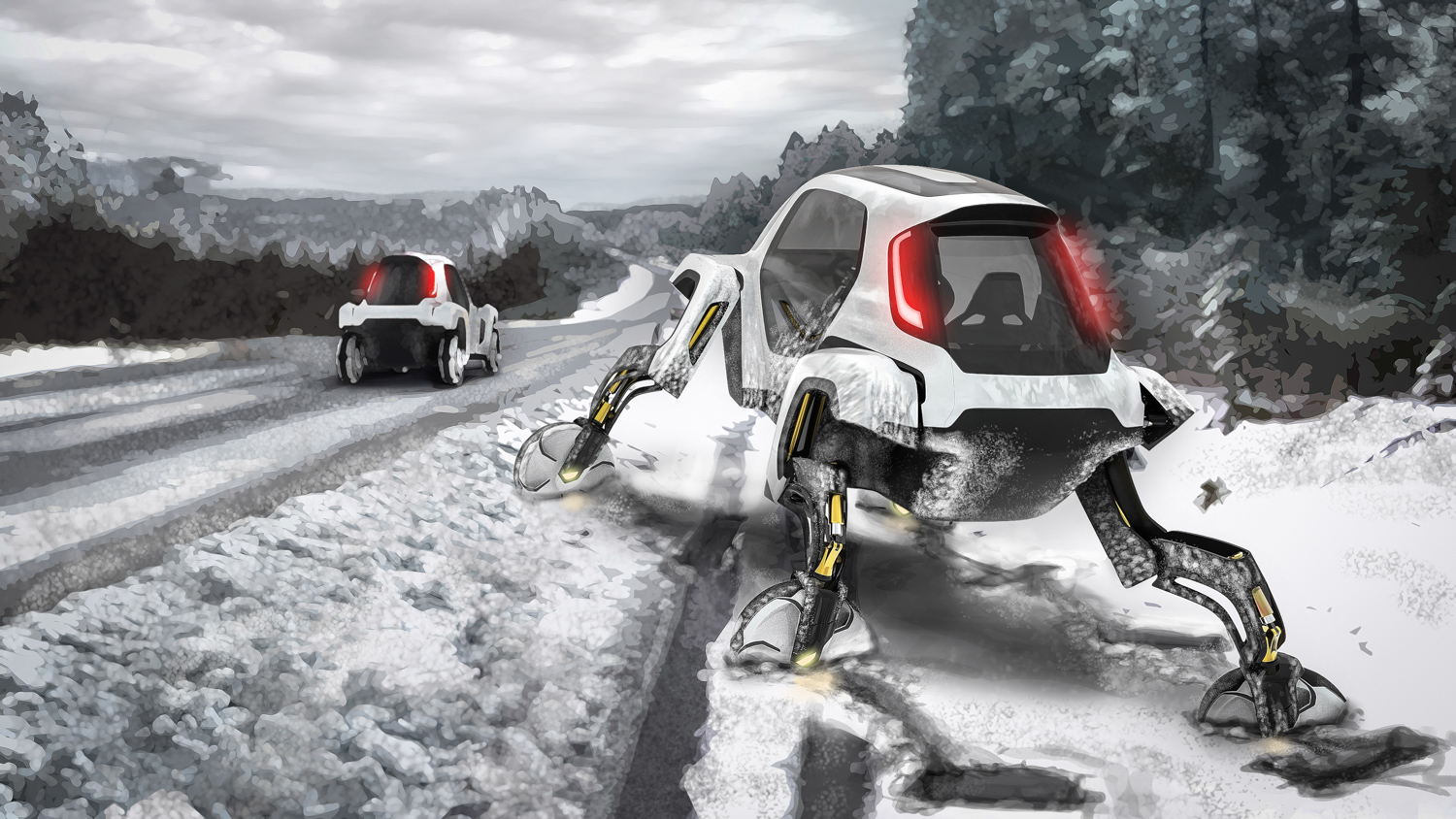 Hyundai Elevate concept snowmobile