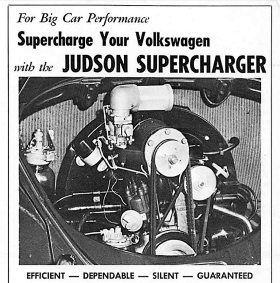Supercharge your Volkswagen with the Judson Supercharger