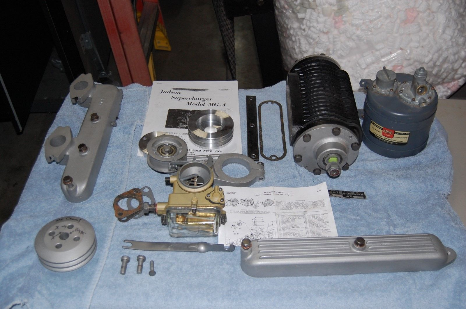 Judson Supercharger for MGA