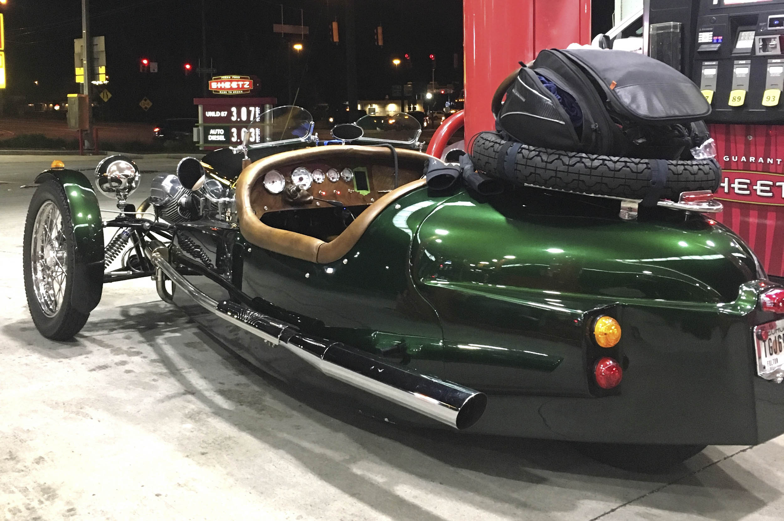 Road Trip gas stop