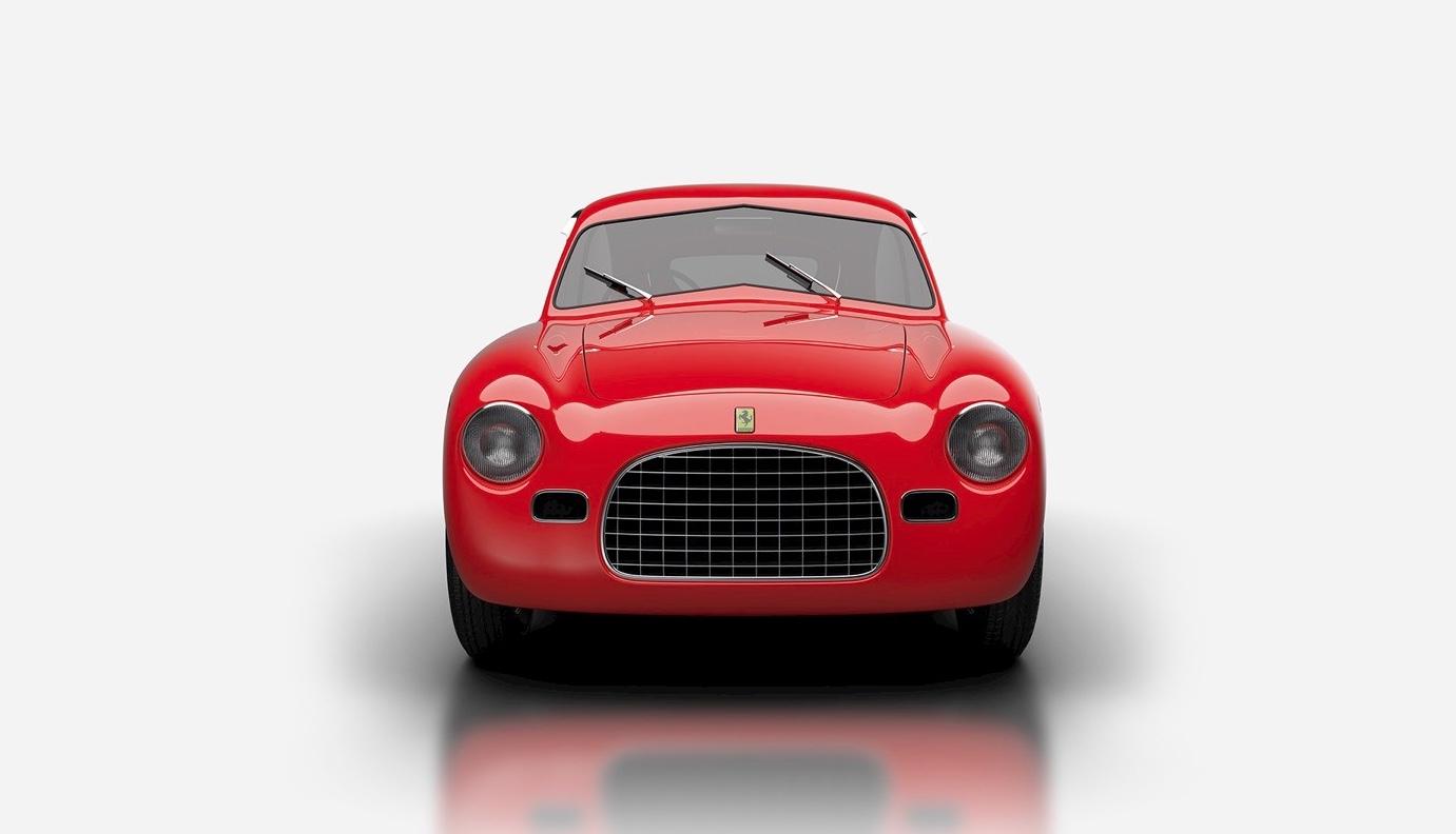 1949 Ferrari 166 MM Panoramica front grille