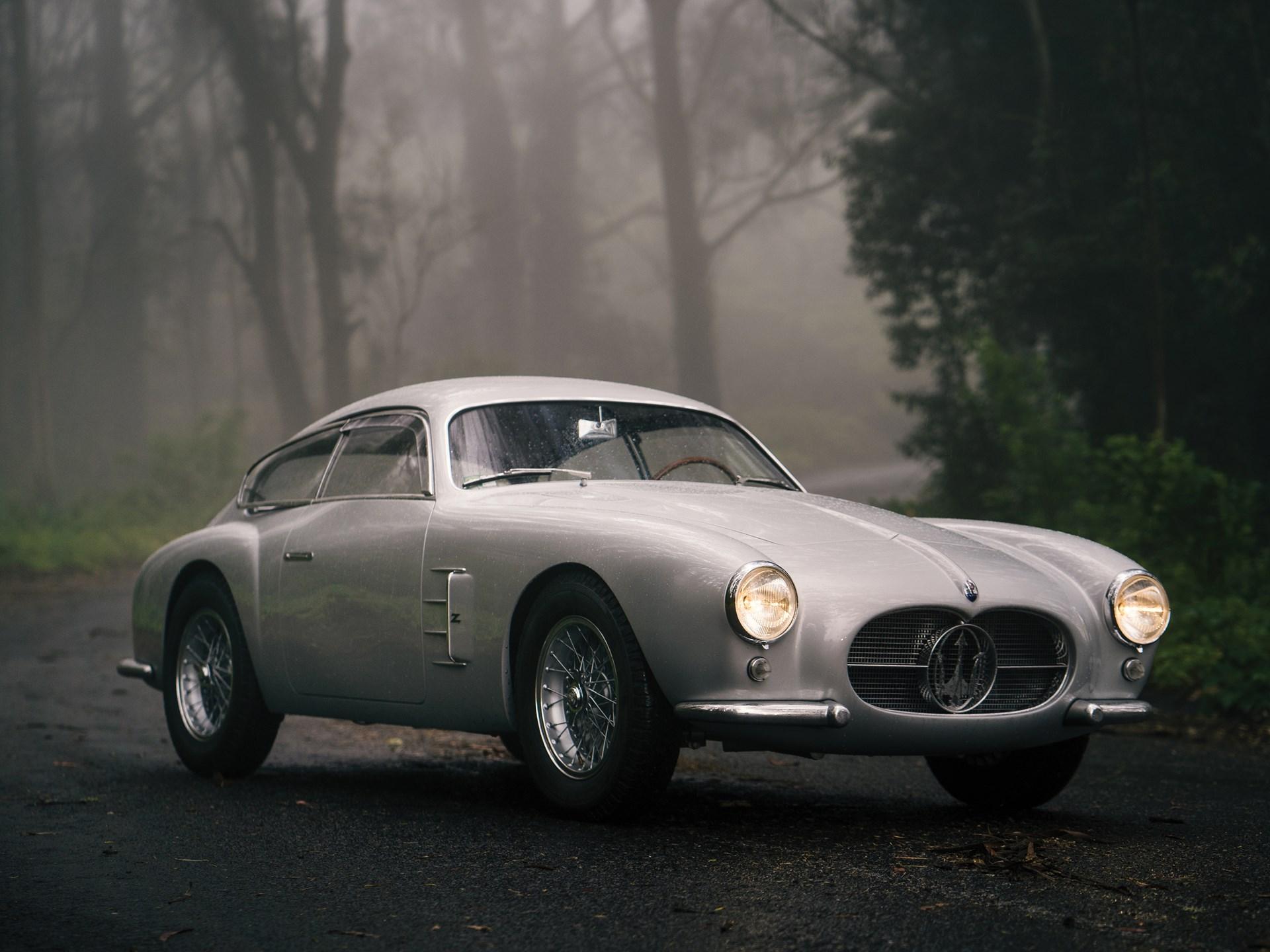 1956 Maserati A6G/54 silver 3/4