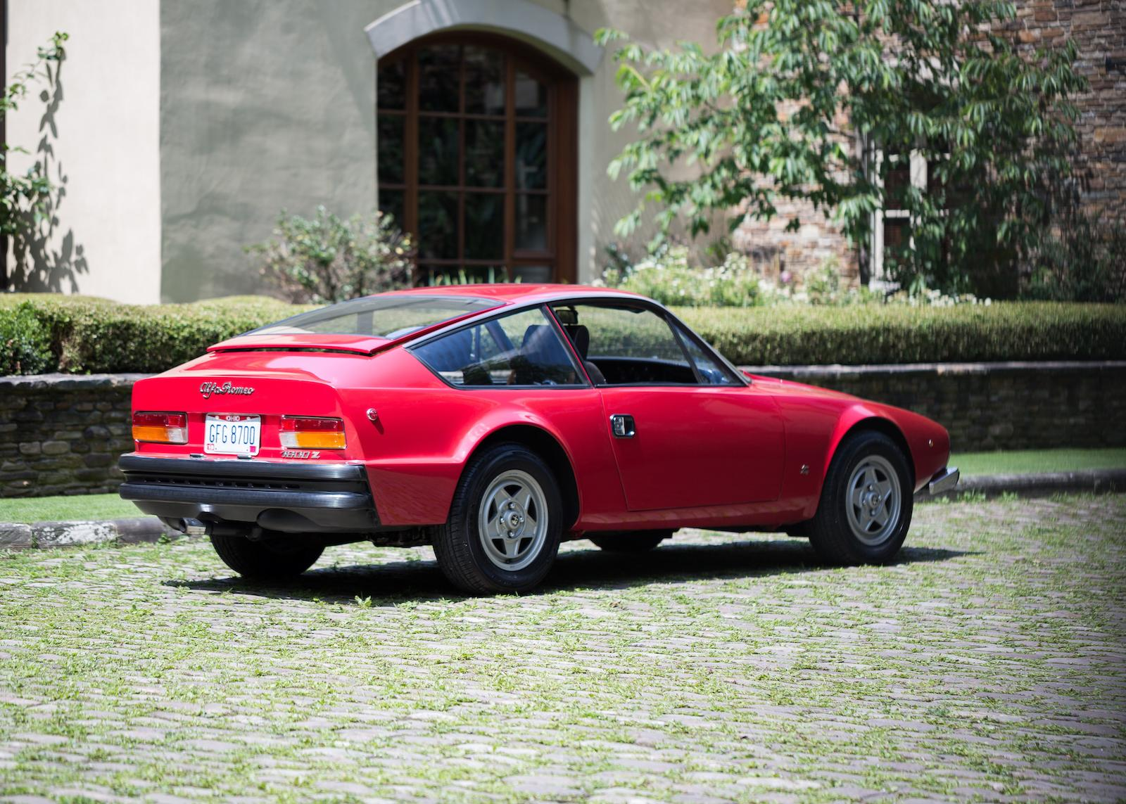 1973 Alfa Romeo 1600 Junior Zagato Coupe