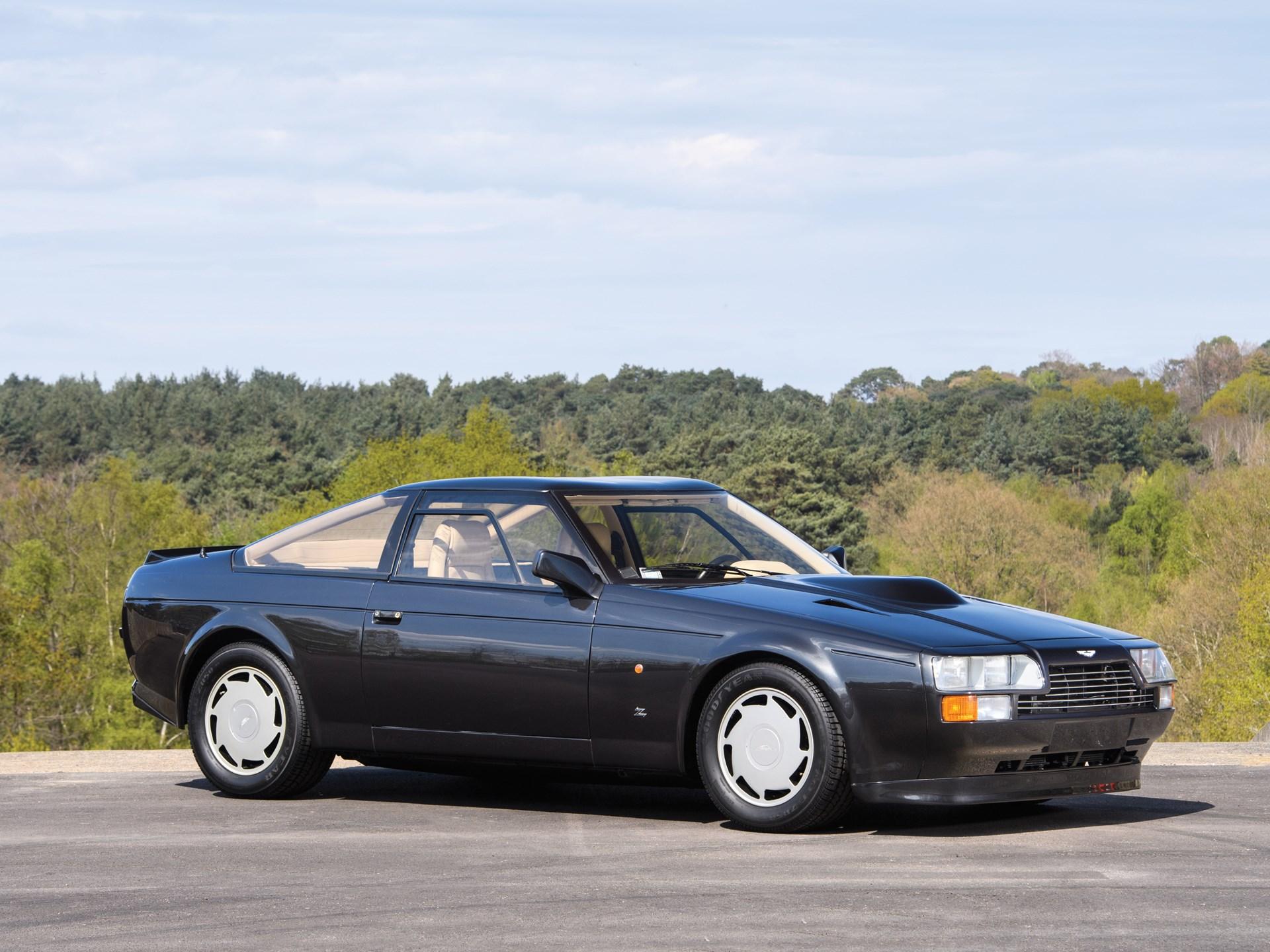 1987 Aston Martin V8 Vantage 3/4