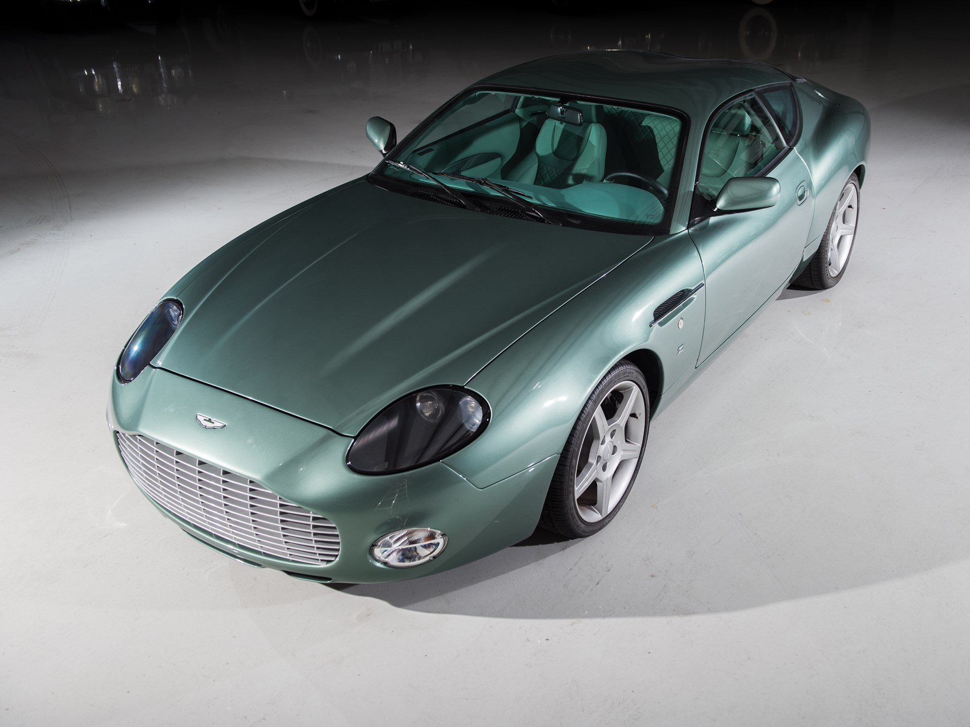 2003 Aston Martin DB7 Zagato 3/4 high