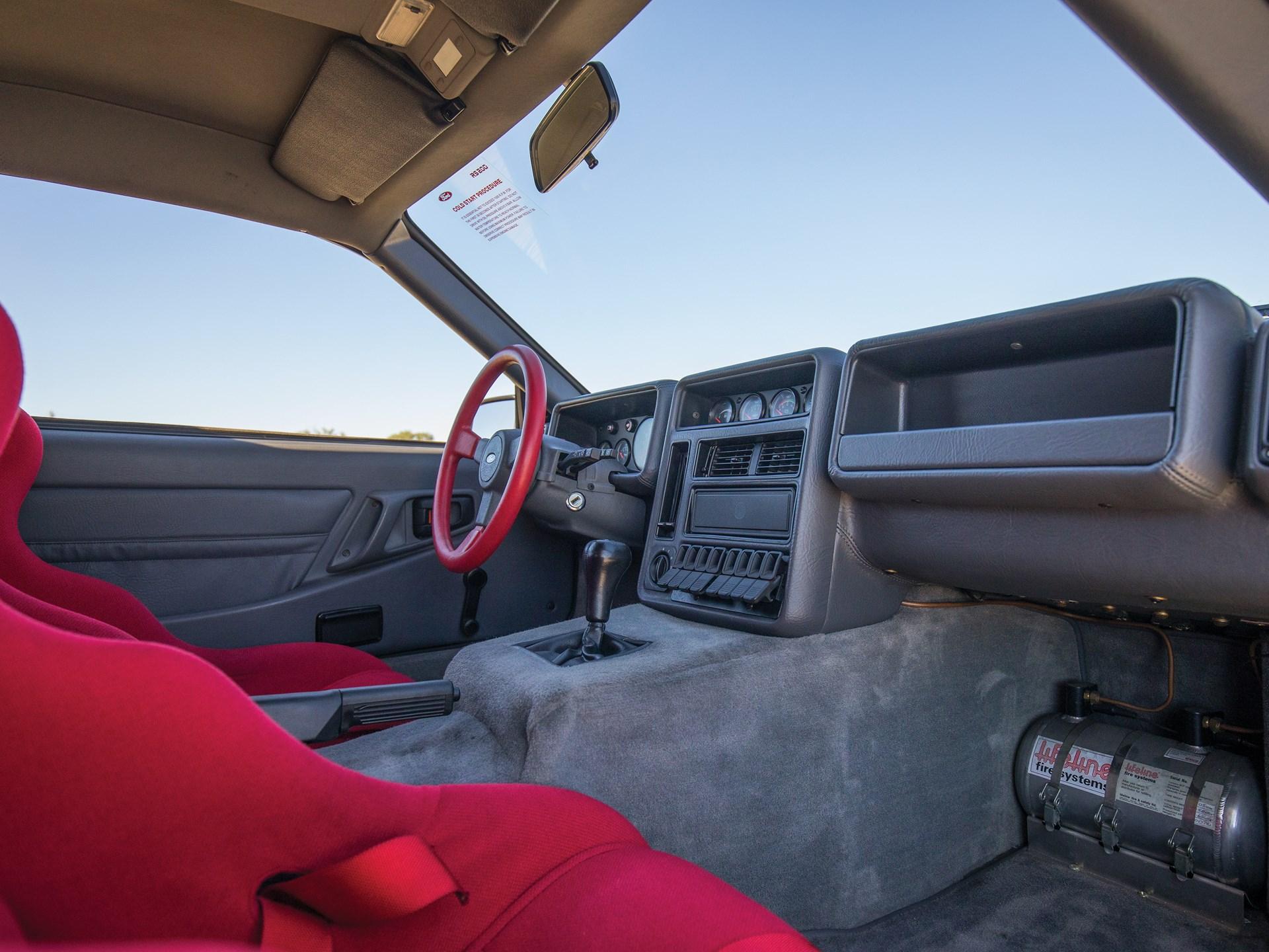 1986 Ford RS200 Evolution interior passenger