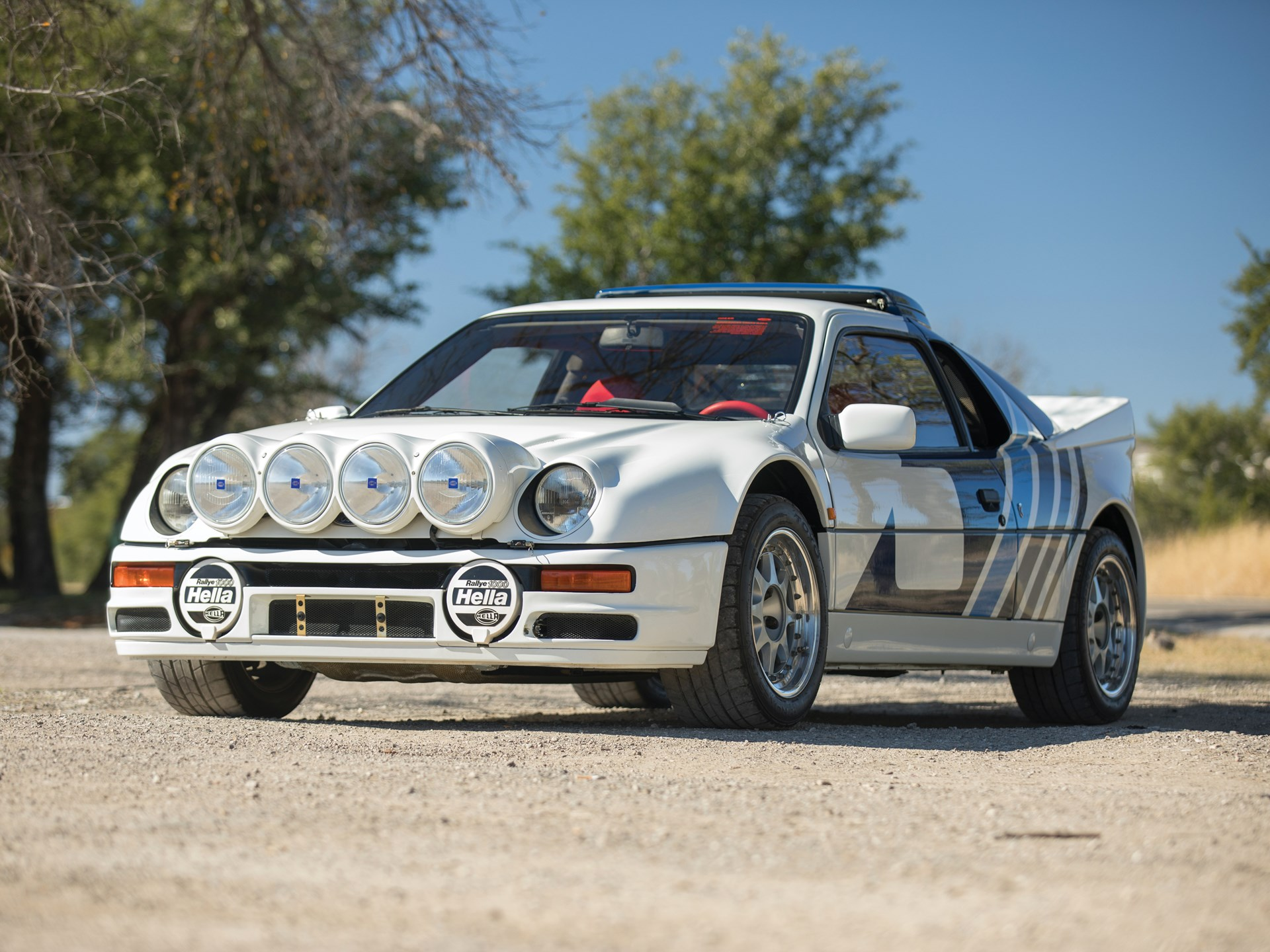 These 1986 Ford Rs200s Are Group B Homologation At Its Finest