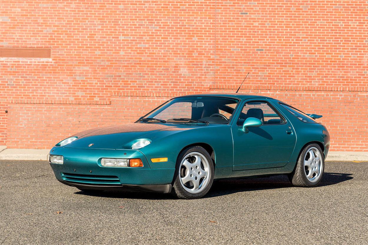 1993 Porsche 928 GTS 3/4 teal aqua