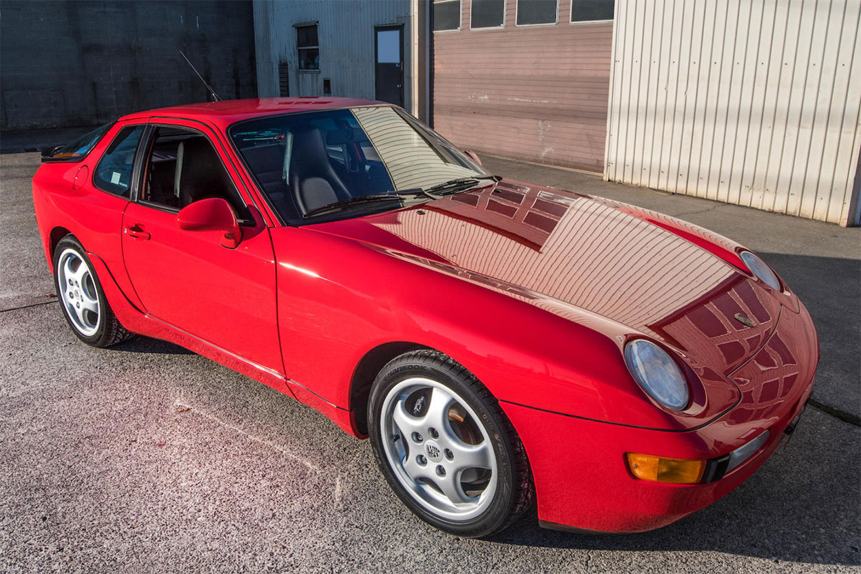 1994 Porsche 968 Coupe 3/4 high