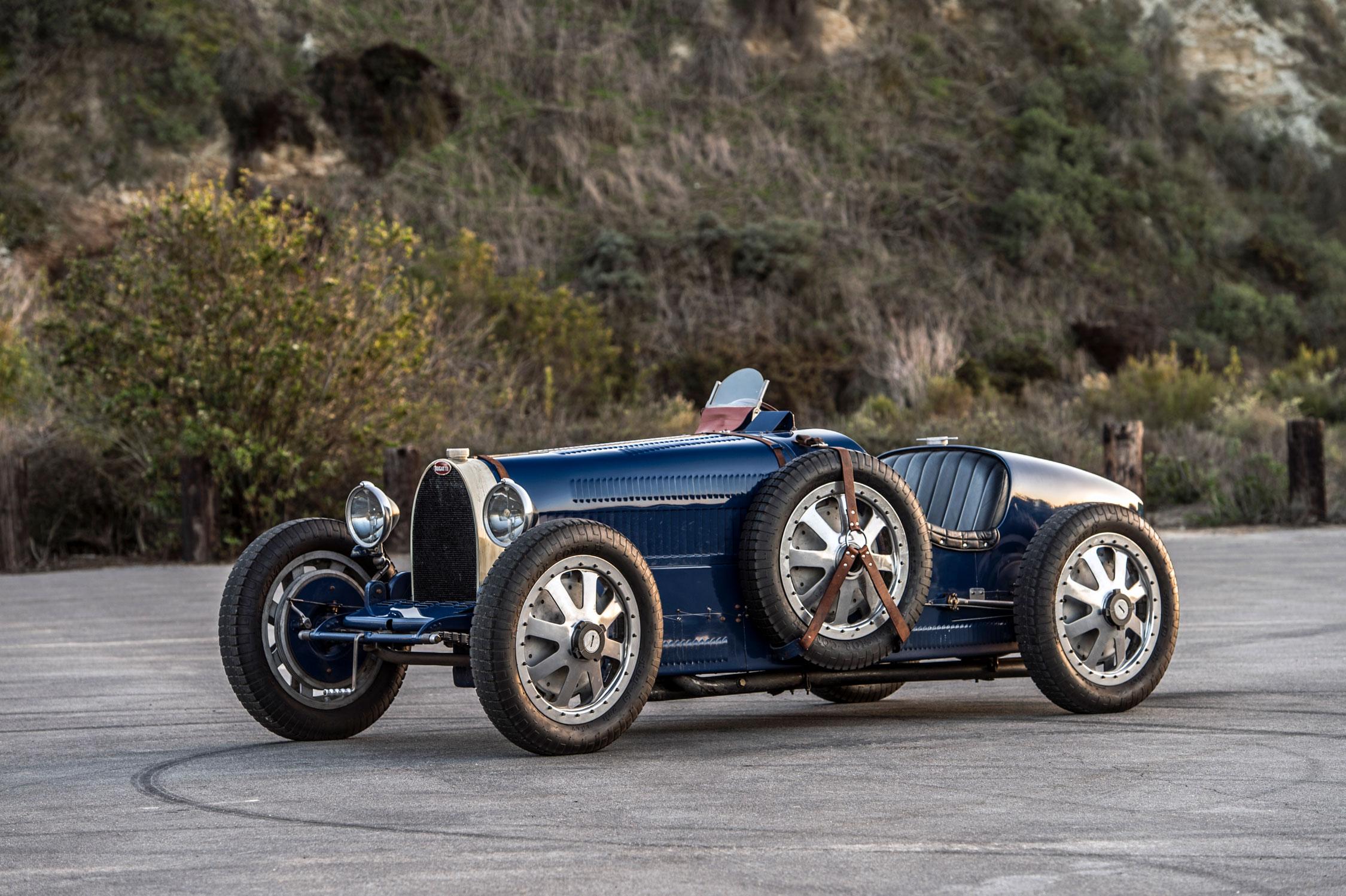 Pur Sang Bugatti Type 35 front 3/4
