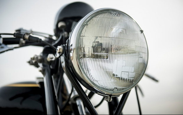 1951 Vincent Series C Black Shadow headlight