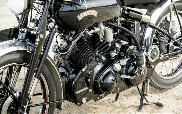 1951 Vincent Series C Black Shadow engine