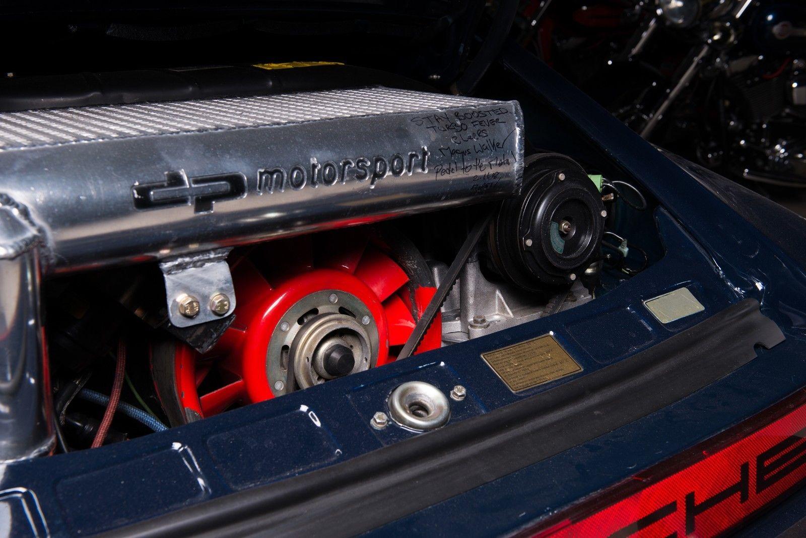 1985 Porsche 930 Turbo 935 DP Motorsports engine