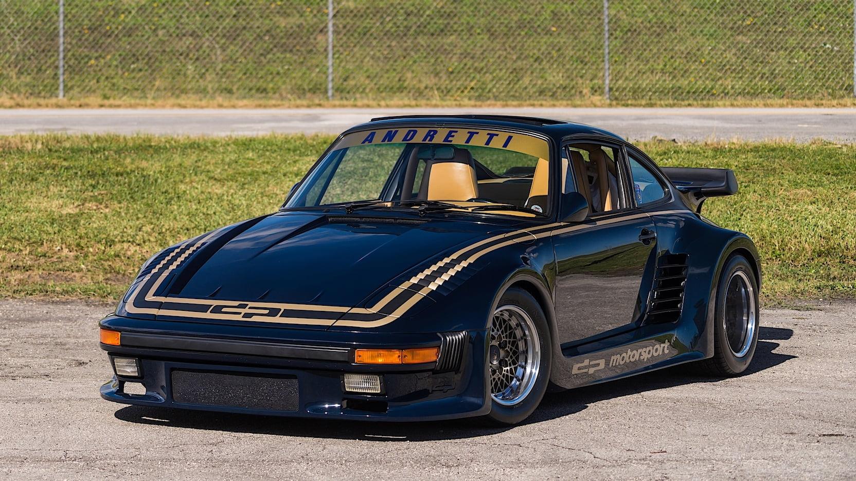 1985 Porsche 930 Turbo 935 DP Motorsports Mario Andretti