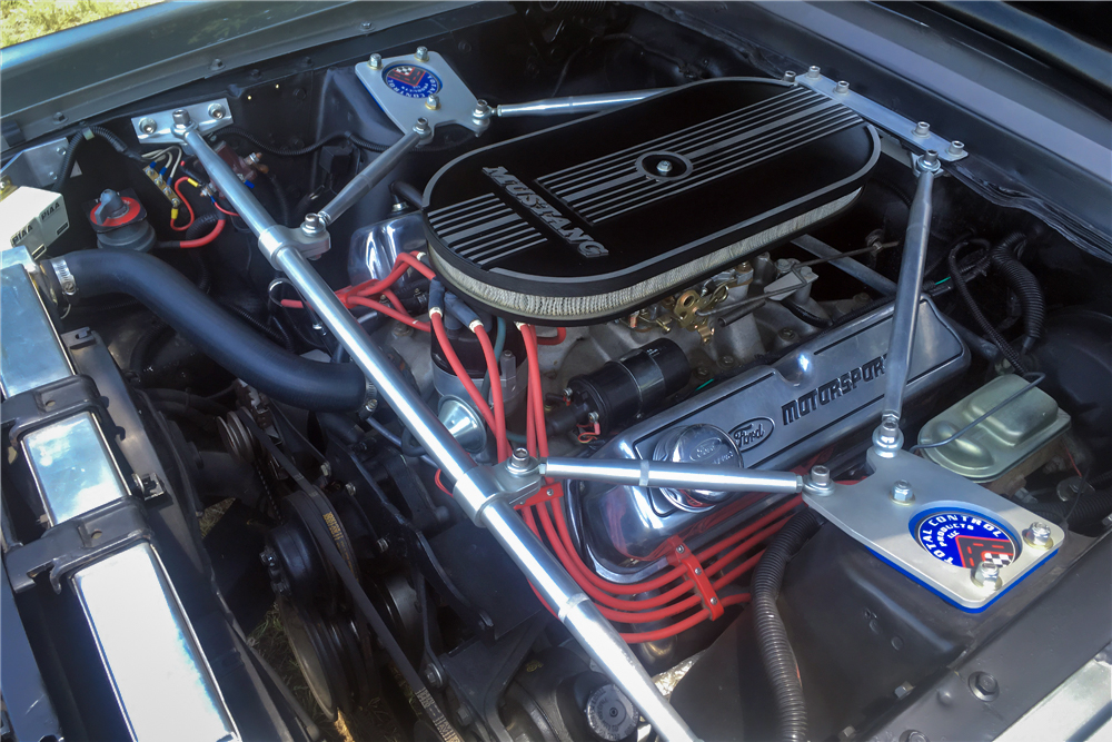 "1967 Ford Mustang ""Eleanor"" engine"
