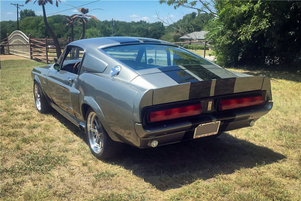 "1967 Ford Mustang ""Eleanor"" rear 3/4"