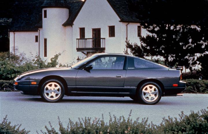 1991 Nissan 240SX side profile