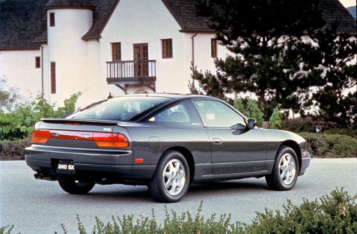 1991 Nissan 240SX 3/4 rear