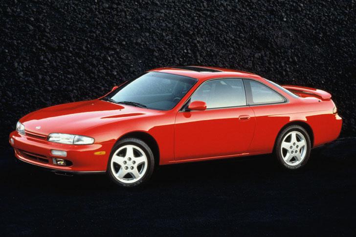1996 Nissan 240SX 3/4 green
